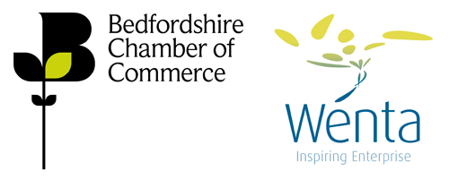 Beds Chamber and Wenta Logos