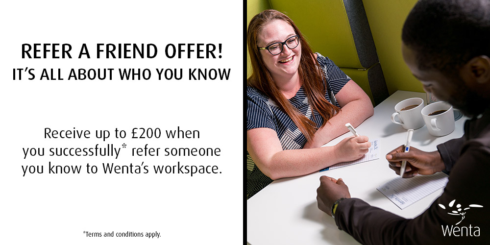Refer a friend visual